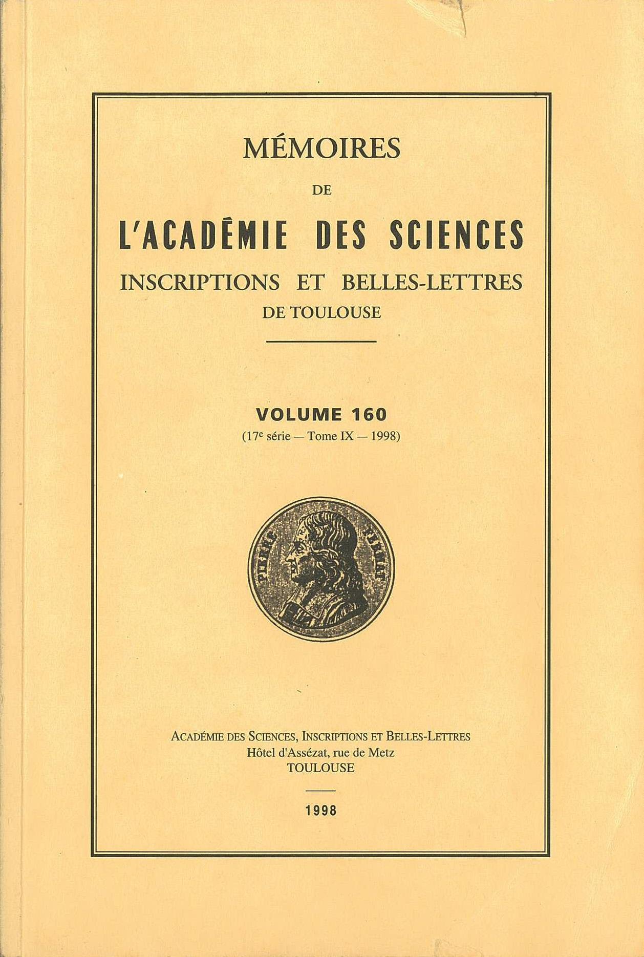 Academie Sciences Inscriptions et Belles Lettres Toulouse